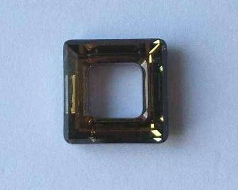 cccfa1524 1 SWAROVSKI 4439 Cosmic Square Crystal Bead 20mm SAHARA   Etsy