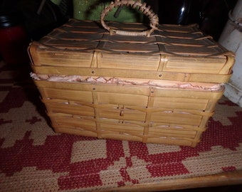Old Sewing Basket