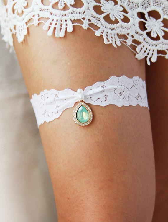 Something Blue Bride Blue Lace Garter Belt Set,Bridal Wedding Garter Gift