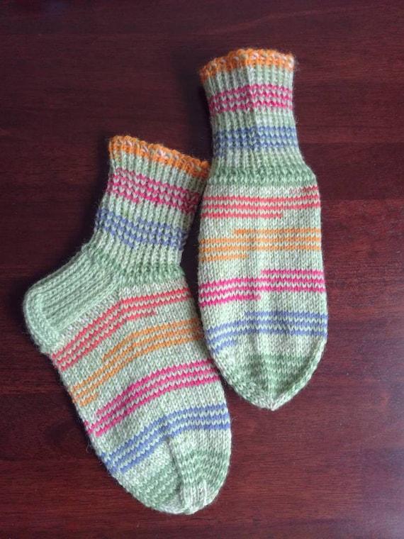 Wool socks womens girls boys handknitted boot wool socks home  760b8c2526