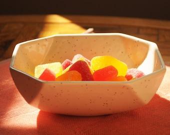 Confetti Ceramic Candy Dish