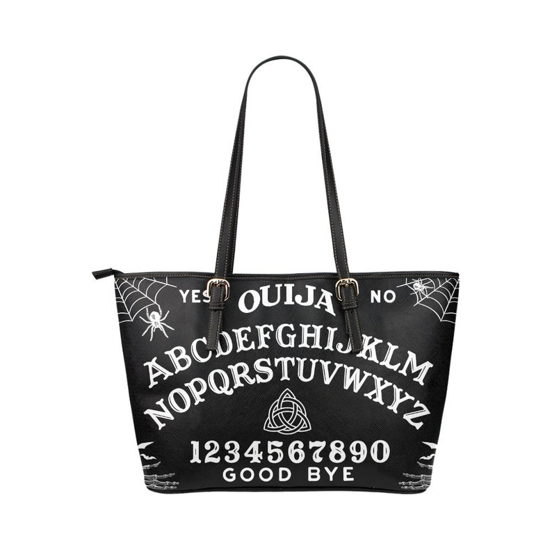 1174e1c7d2e OUIJA Board Tote Bag PU Goth Magic Witchcraft Witch Rain | Etsy