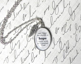 Hope Definition Necklace