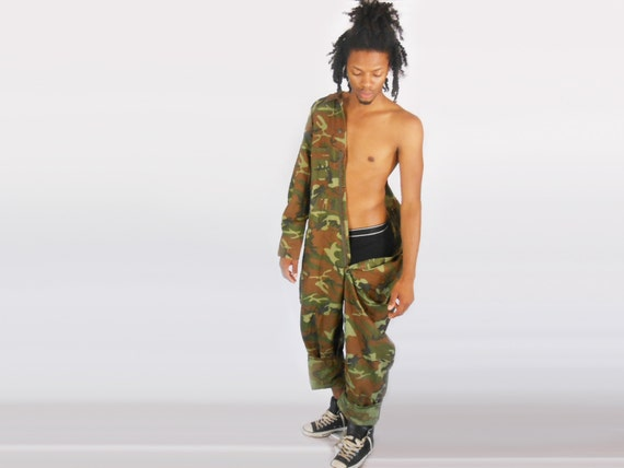 Camo-Overalls / Overall Männer / Overalls / Militär Jumpsuit /