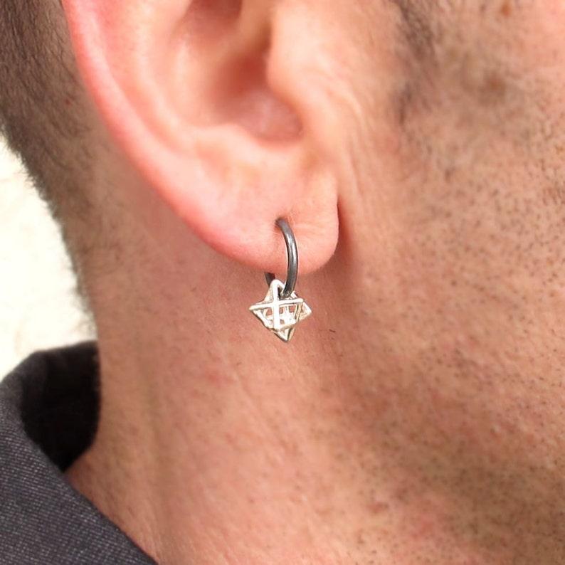 f42889d67 Mens Earring Star of David Earring Jewish Jewelry Unisex | Etsy