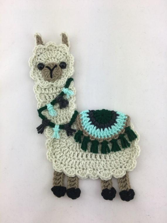 Boho Llama Llama Applique Llama Decor Llama Gifts Etsy
