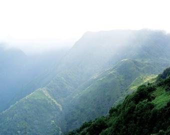 Hawaii Mountains 03 - Mountain Photography Digital Download by Pasadya