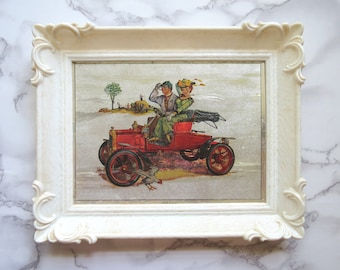 Ready To Be Framed! Art Print Patent Print Vintage Fire Engine 1970