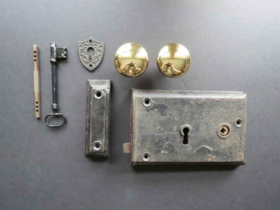 image 0 - Vintage Door Hardware Set // Reproduction Antique Style Etsy