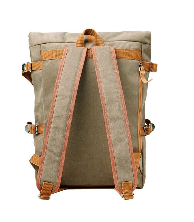 471fdd231 10% off Tidy Urban Cotton Backpack Mustard 75.968usd | Etsy