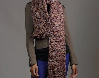 Fashionable Multi-Colored Scarf