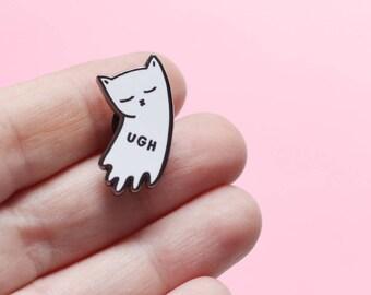 UGH Kitty hard enamel lapel pin