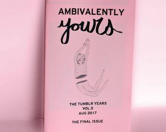The Tumblr Years zine (vol.5)