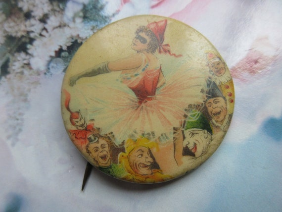 Older Vintage Pin Back Button - Circus Collectibl… - image 5