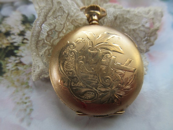 Antique Molly Stark Pocket Watch For Project - Bea