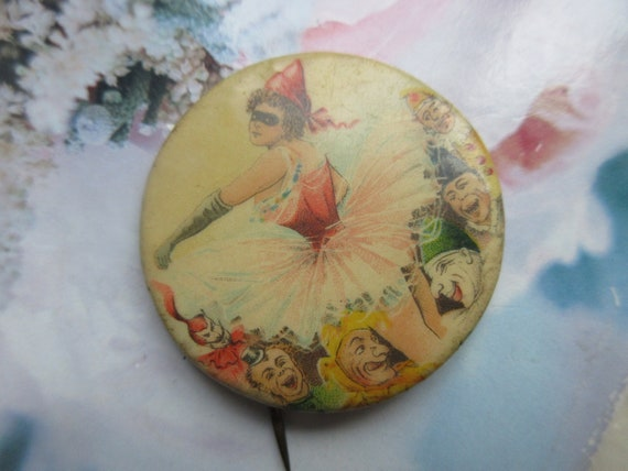 Older Vintage Pin Back Button - Circus Collectibl… - image 4