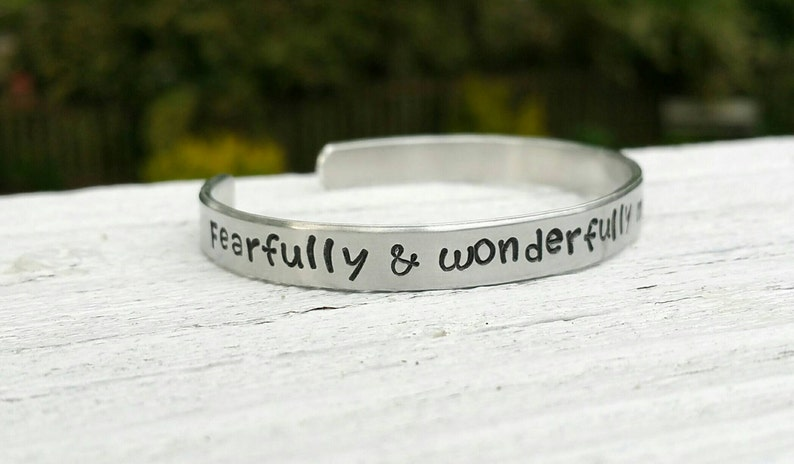 Fearfully and Wonderfully Made Psalm 139:14 Christian image 0