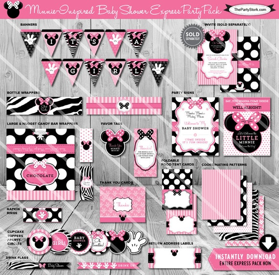 Results For Minnie Mouse Baby Shower Decoration Packages
