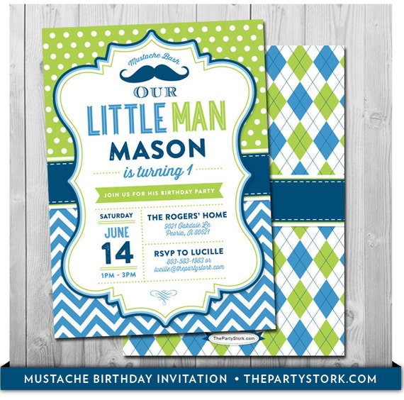 Little man birthday invitation little man invitation etsy image 0 filmwisefo