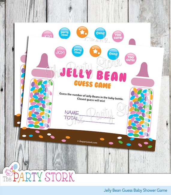photograph regarding Guess Who Game Printable named Sweet Guessing Sport, Jelly Bean Bet Youngster Shower Recreation