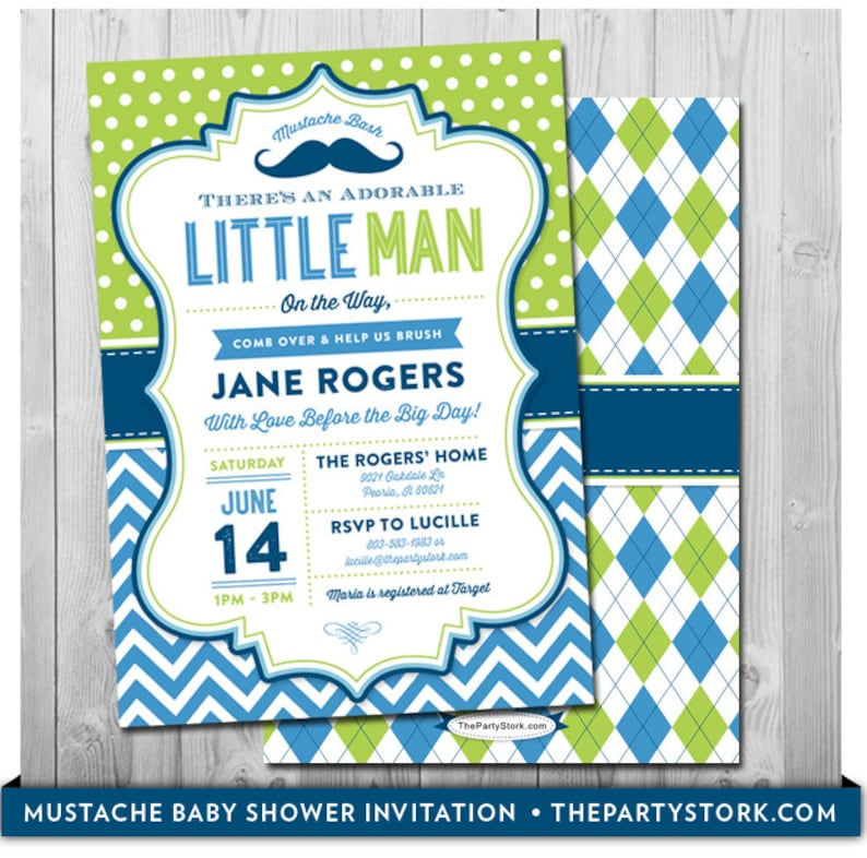 photograph regarding Free Printable Mustache Baby Shower Invitations titled Mustache Youngster Shower Invitation Printable Tiny Male Celebration Invite with No cost back again Little one Boy Invites Social gathering Pack Readily available in direction of Video game