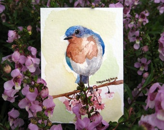 ACEO Limited Edition - Spring blue