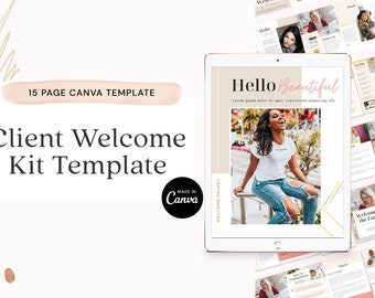 Client Welcome Kit Canva Template