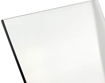 Glass (Polycarbonate or Lexan) for Picture Frames - Add-On for Double Sided Picture Frame (2 pieces per order)