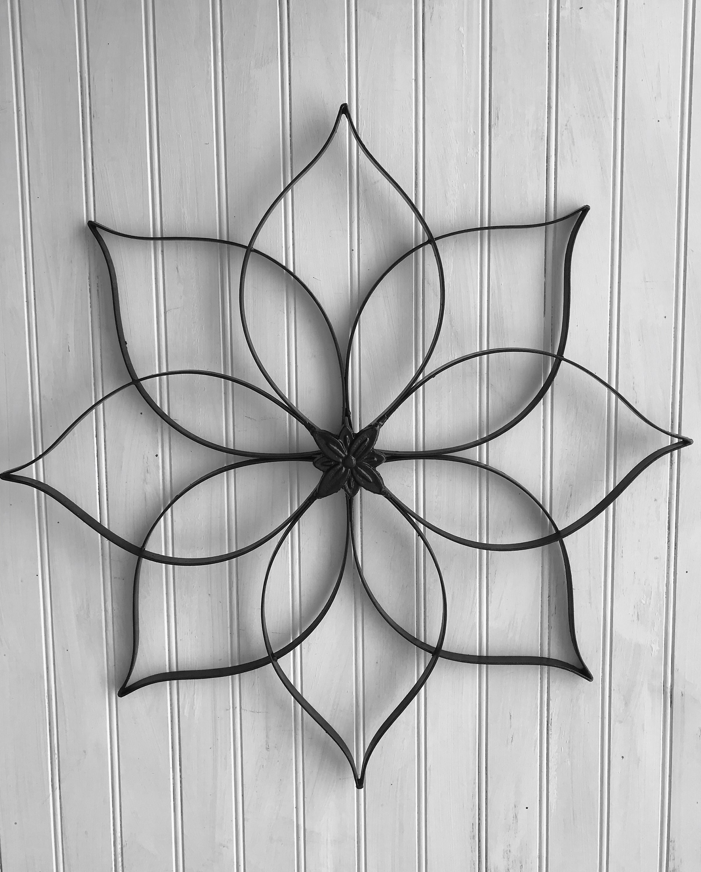 Black Metal Wall Hanging Large Metal Wall Decor Decorative Etsy