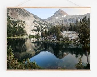 Oregon Lake.Wall Art.Decor.Ice Lake.Wallowa Mountains.Matterhorn Peak. Fine Art Photography.Pacific Northwest. SEVERAL SIZES & POSTER