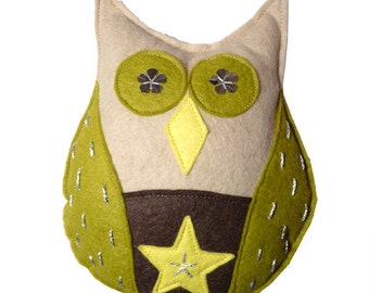 Owl Christmas Tree Topper