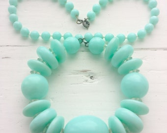 Vintage Mint Necklace