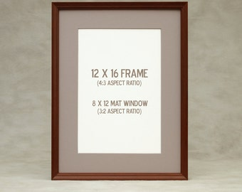 8x12 Matted Frame Etsy
