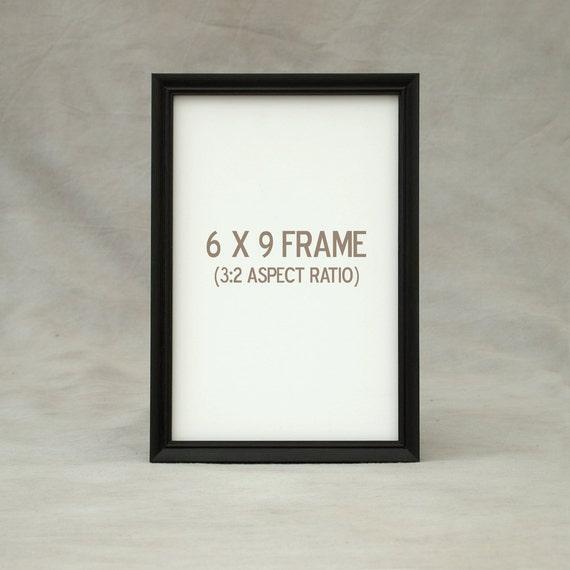 6x9 6.5x8.5 7x9 Picture Frame Peruvian Walnut dark exotic   Etsy