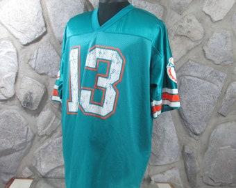 89c0f60fa59 Vintage Miami Dolphins Dan Marino Jersey