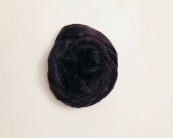 Hand-Dyed Silk Bricks A1 quality. 100% Silk Fiber known as Mulberry Silk for Felting, Spinning, Knitting, Charcoal,Fiber Art,Textile Art.