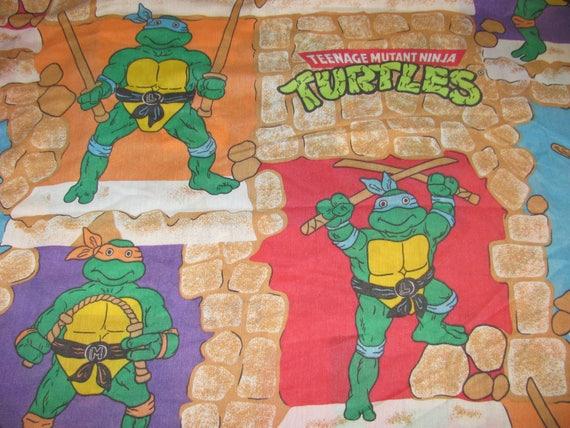 Vintage Teenage Mutant Ninja Turtles Tmnt Twin Plate Etsy