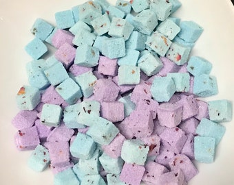 Lavender and Rose Sugar Cubes CHOOSE COLOR (160) for Tea. Coffee. Weddings. Baby Showers and Party's