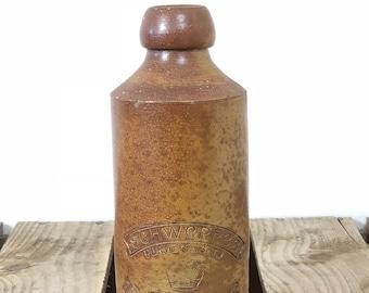 Stoneware Schweppes bottle, stoneware ginger beer bottle, stoneware bottle, country wedding prop