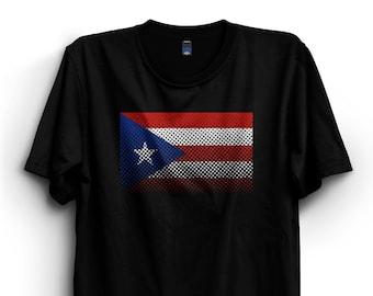 a703051921 Puerto Rico flag T-Shirt, Puerto Rico tshirt, Premium Ringspun Shirt,  Puerto Rico Gift, Country Flag, Soccer fan, retro, vintage