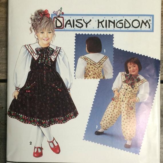 2348 SIMPLICITY DAISY KINGDOM CHILD/'S DRESS JACKET /& BAG SZ 2-5