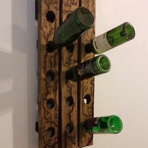 Wood Wine Rack Pallet Furniture Etsy