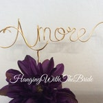 Custom Cake Topper, Wedding Cake Topper, About time, Wire Cake Topper, Personalized Cake Topper, Wedding Gift, Cake topper, Amore