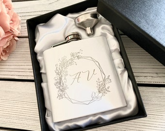 Best friend gifts, Bridesmaid gift, Valentines day gift for her, Personalized flask gift for mom, Best friend gift, Bridesmaid gift