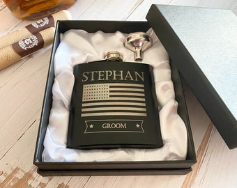 Valentines Day Gift for Him, Personalized Flask Gifts, Gifts for Men, Gifts for Boyfriend, Anniversary Gifts, Valentines Gifts for Husband