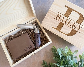 Christmas Gift for Him, Personalized Gift Box, Gifts for Men, Gifts for Boyfriend, Anniversary Gifts, Valentines Gifts for Husband