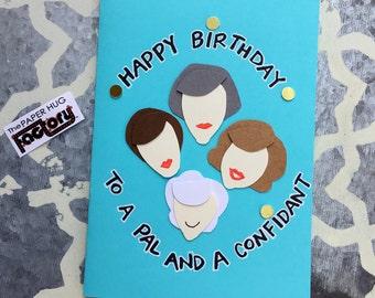 Birthday Card - Golden Girls Theme