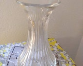 St Louis France Art Glass Handcrafted Crystal Vase European French Leaded Hand Cut