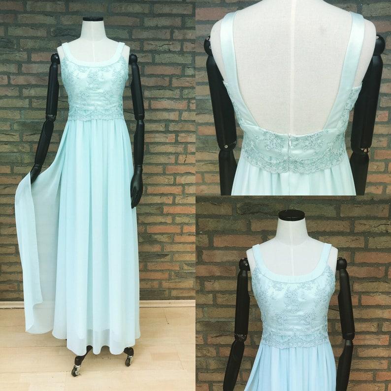 Wedding dress Luca mintchiffonlacewedding image 0