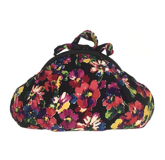 vintage 1940's floral handbag / Tucktite Costume B